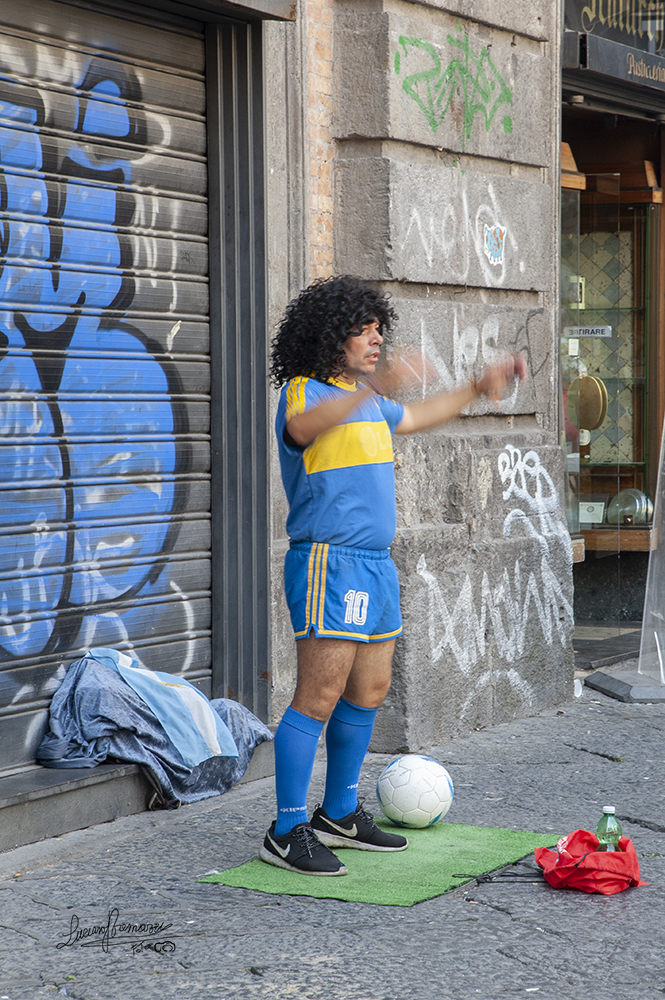 Nelle vie di Napoli