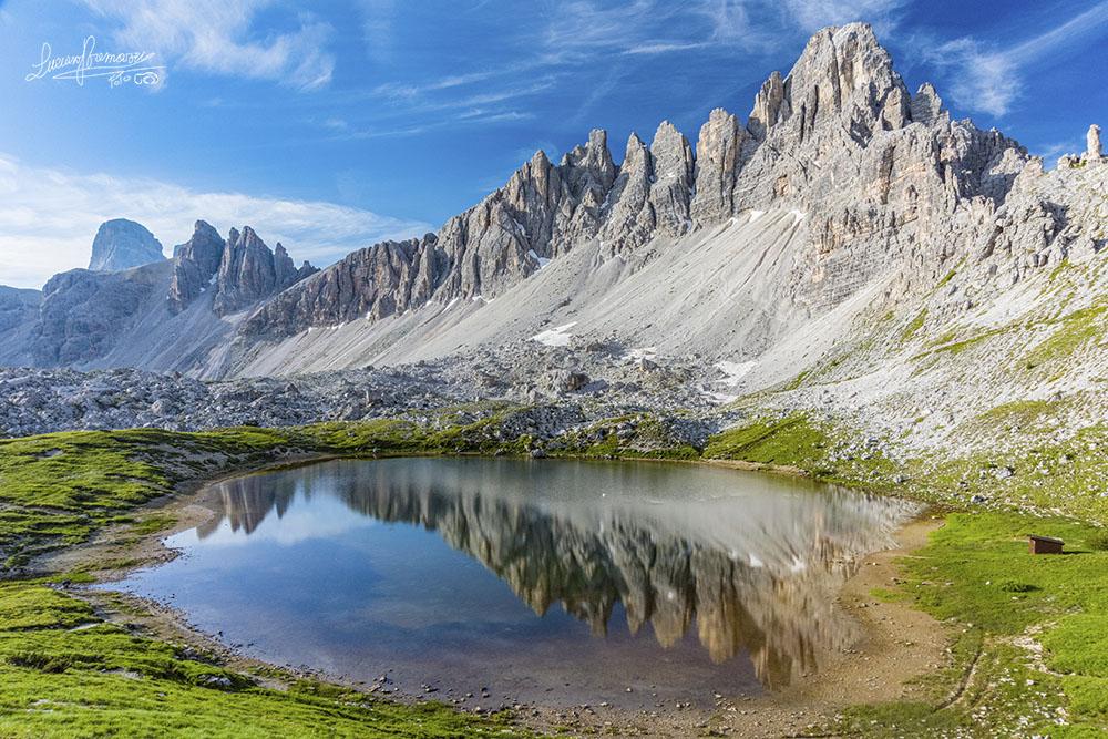 Laghi dei Piani e Monte Paterno